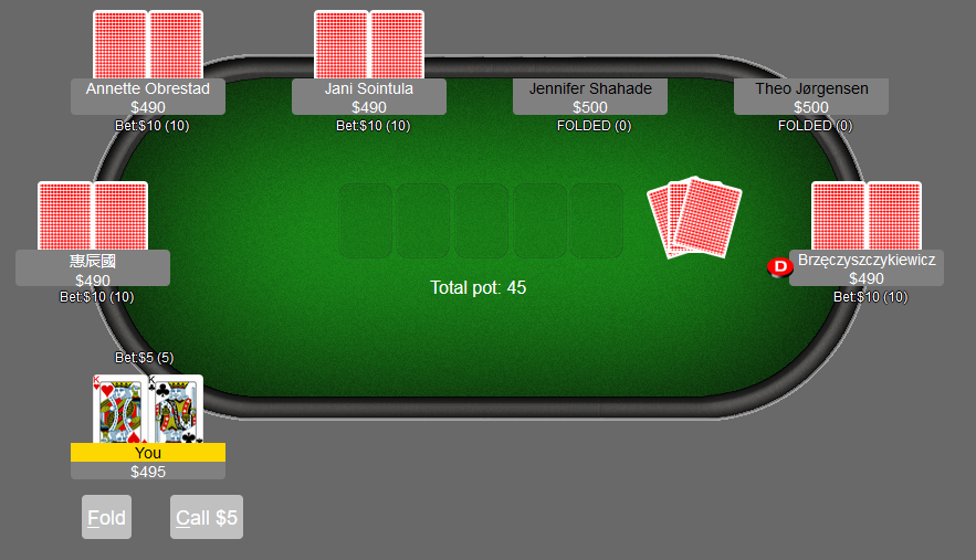 online poker without registration