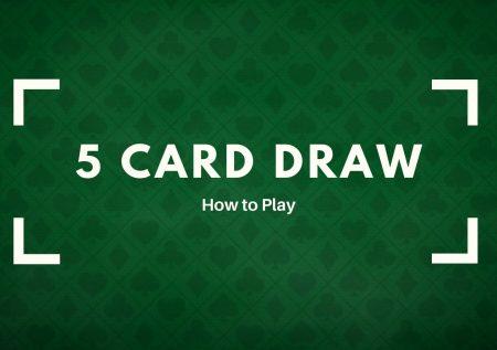 5 kaarten trekken
