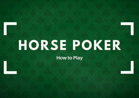 CHEVAL Poker